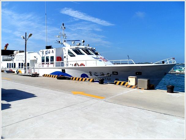 去南海四島搭的船